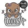 Cookie Teddy Digistamp