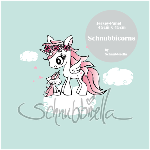 Schnubbicorns Jersey Panel