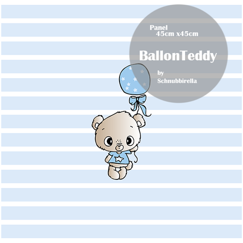 Ballon Teddy Jersey Panel