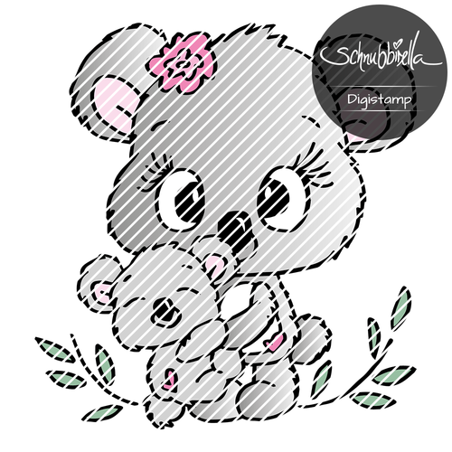 Kuschel Koalas Digistamp