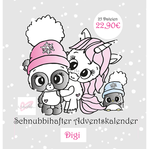 Adventskalender Digistamp 2018