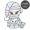 Schlaf Teddy Digistamp