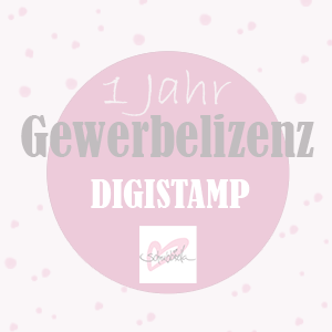 GewerbeLizenz Digistamp 12 Monate