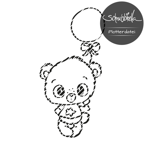 Ballon Teddy M Plott