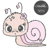 Schnecke w Digistamp
