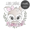 Hello Spring Reh Digistamp